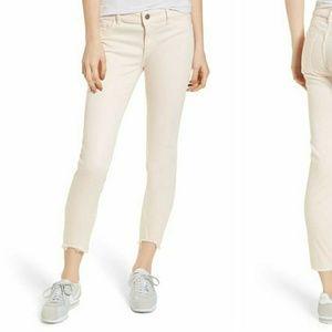 NWT DL1961 vivid light pink jeans size 28